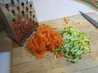 Sformato di miglio carote e zucchine