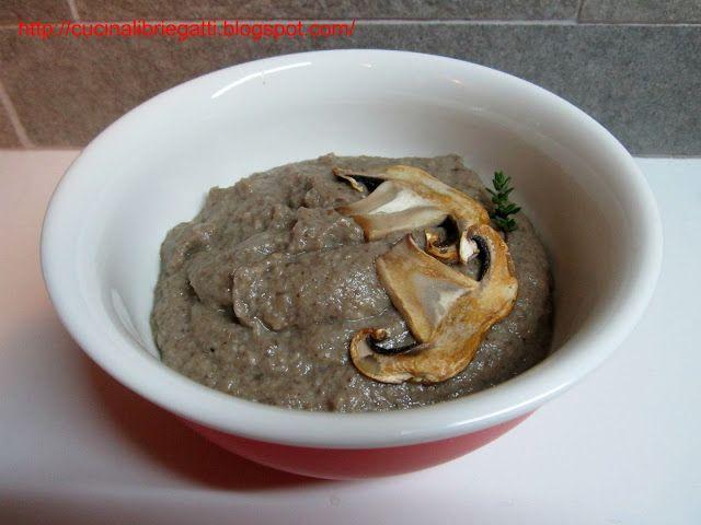 Crema di funghi e fontina
