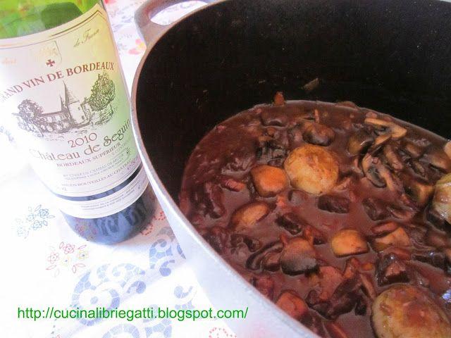 Boeuf bourguignon (manzo alla borgogna)