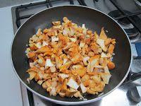 Tortino di patate con funghi gallinacci