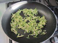 Frittata di riso venere e zucchine