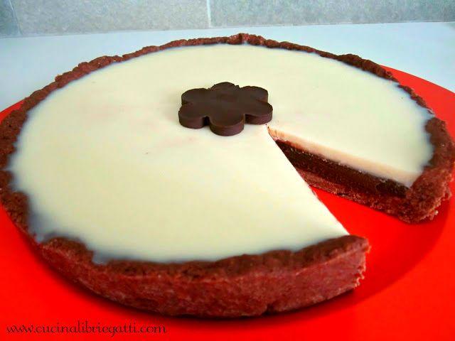 crostata doppio cioccolato