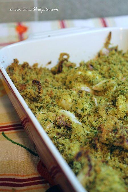 calamari gratinati