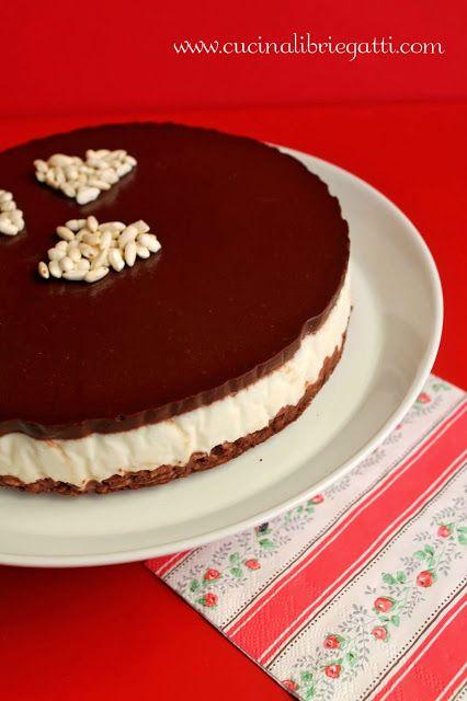 cheesecake riso soffiato