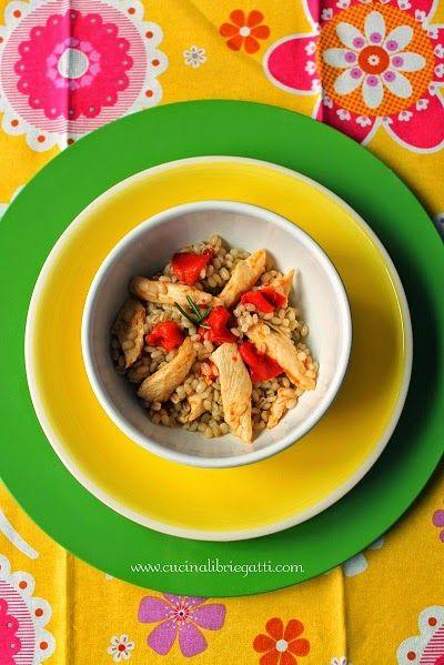 insalata orzo pollo peperoni ricetta