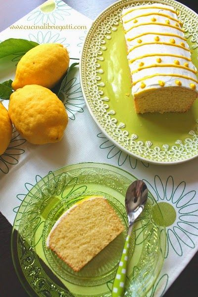 plumcake semolino e limone ricetta