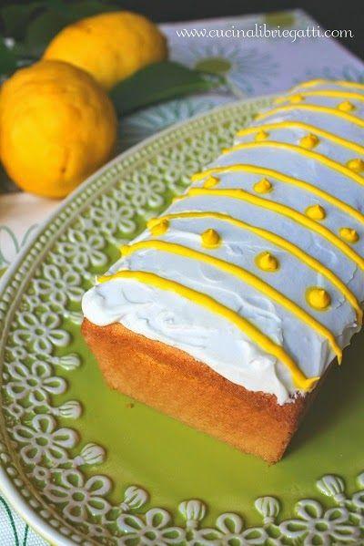 plumcake semolino e limone