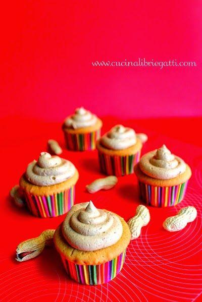 cupcake burro d'arachidi ricetta