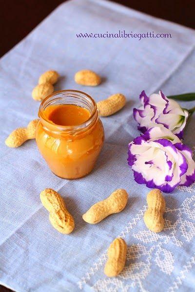 ricetta burro di arachidi