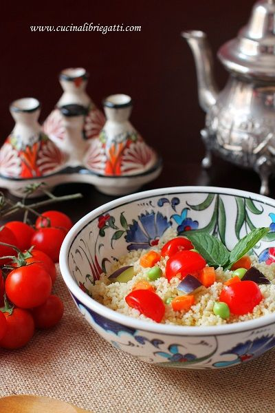 cous cous vegetariano verdure forno