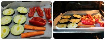 cous cous vegetariano verdure forno