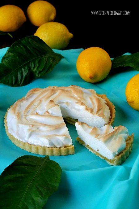 crostata meringata limone