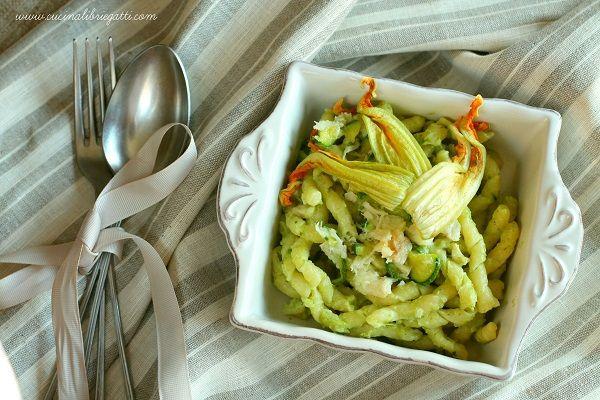 pasta baccala zucchine