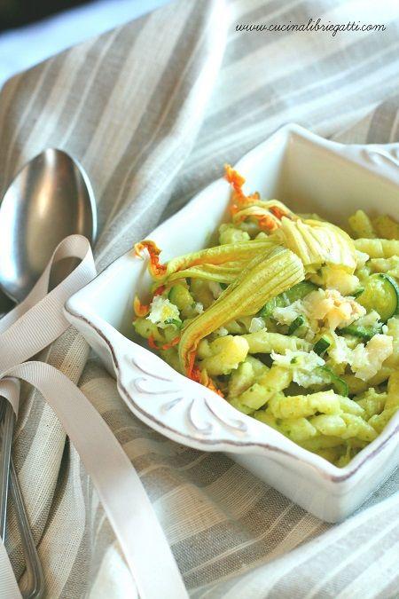 pasta zucchine baccala