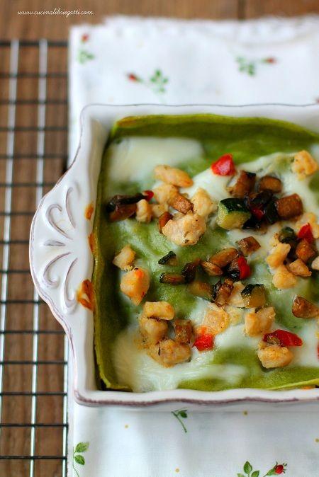 lasagne verdi ragu