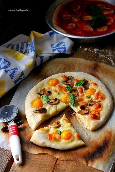 impasto pizza lunga lievitazione