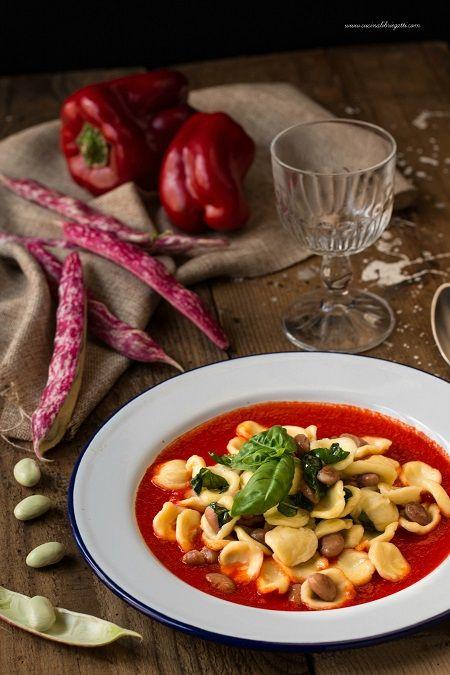 pasta fagioli basilico