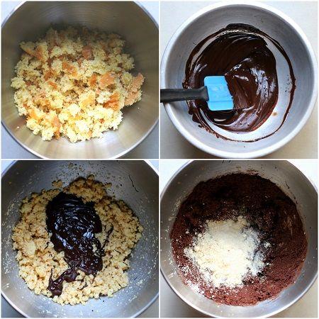 Tartufini al cioccolato e amarene