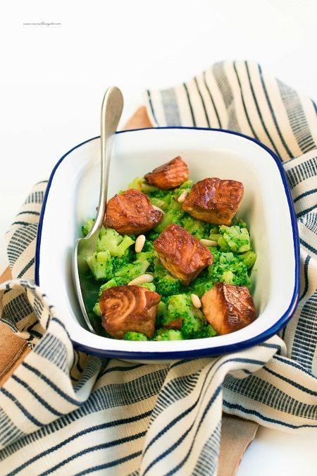salmone glassato alla soia