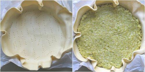 come si fa la torta di riso salata
