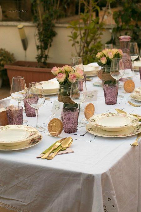 La cena in terrazza - Cucina, Libri e Gatti