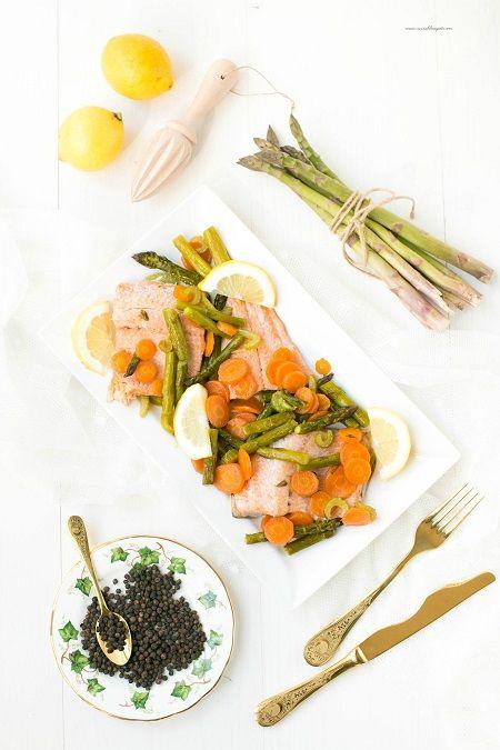 ricetta con trota salmonata