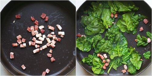 cottura spinaci