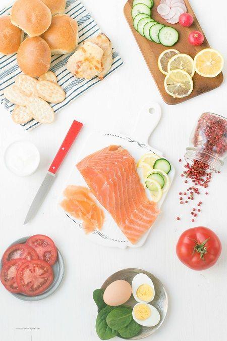salmone marinato alla svedese