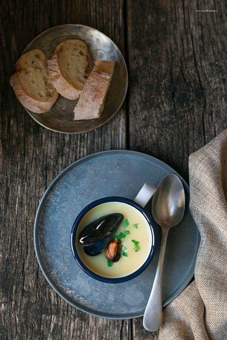 zuppa cozze e patate