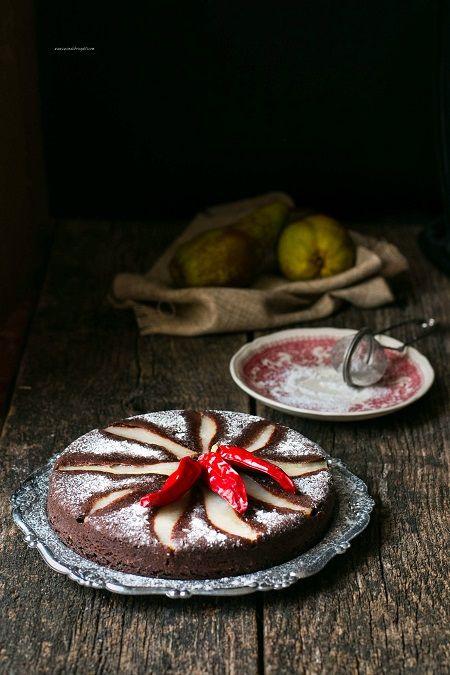 torta rovesciata di pere