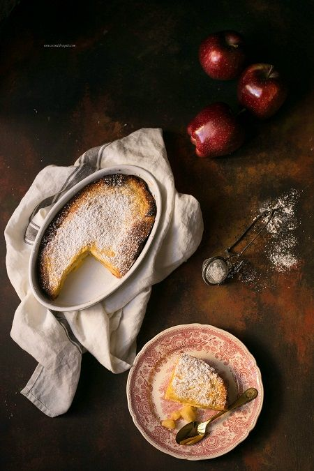 torta di pandoro e mele