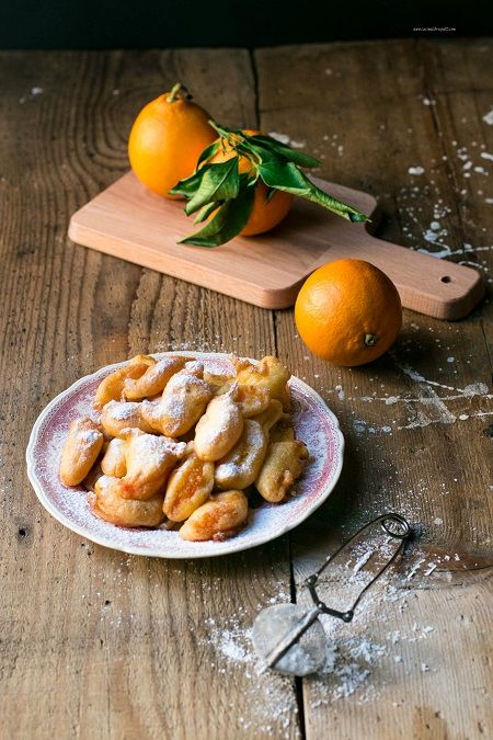 frittelle di arancia