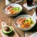 insalata di salmone