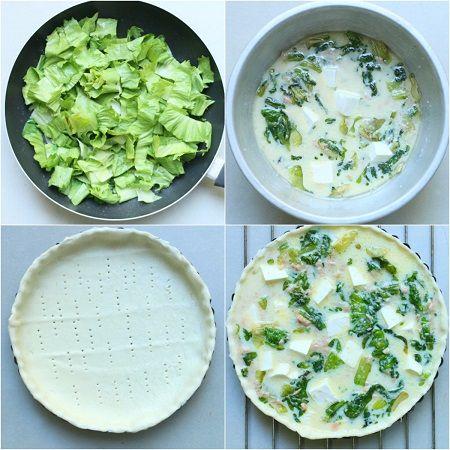 come preparare la torta salata tonno