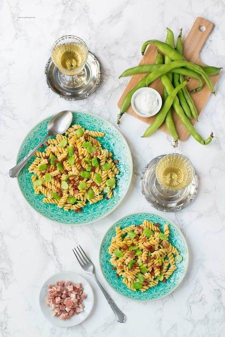 ricetta pasta con le fave
