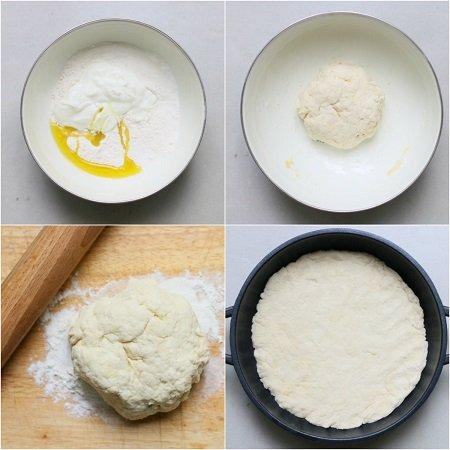 come fare la pizza in padella