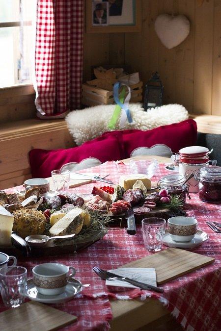 colazione in baita