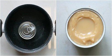 caramello con latte condensato