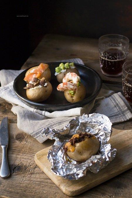 patate al cartoccio al forno