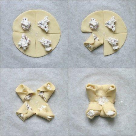 salatini di pasta sfoglia ripieni